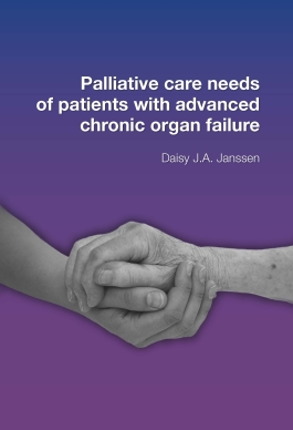 Palliative care needs of patients with advanced chronic organ failure